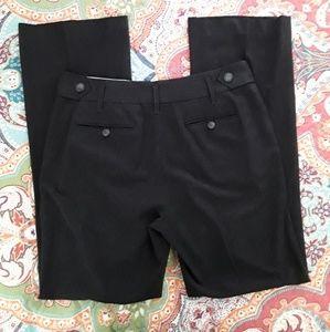 Ann Taylor Loft Charcoal Gray Dress Pants sz 6